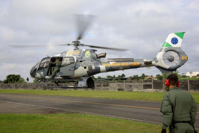 Governo do Paraná envia helicóptero para auxiliar buscas em Brumadinho
