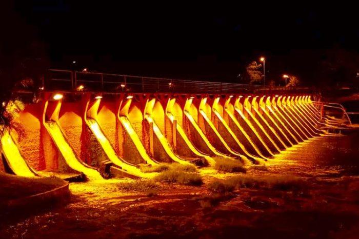 Barragem do Lago Igapó ganha iluminação de R$ 14,6 mil