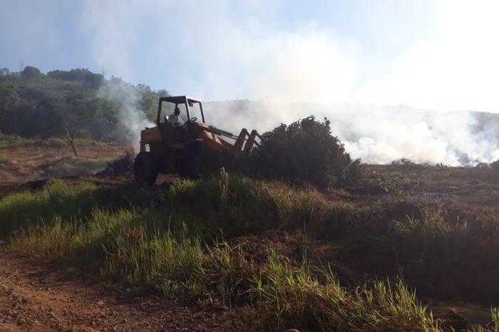Prefeitura suspeita de novo incêndio criminoso na Fazenda Refúgio