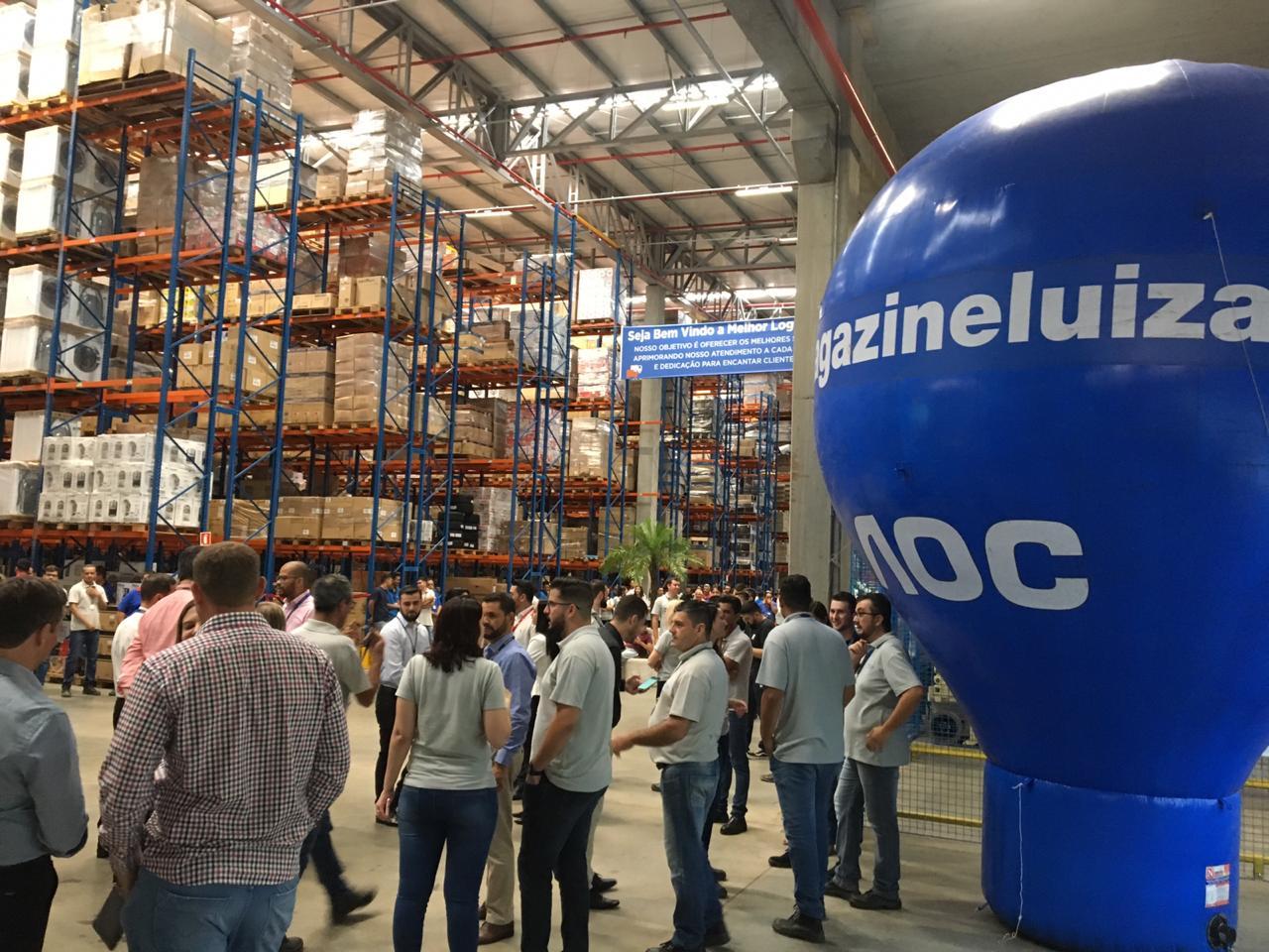 663486a221 Centro de Distribuição do Magazine Luiza em Londrina deve gerar 700 ...