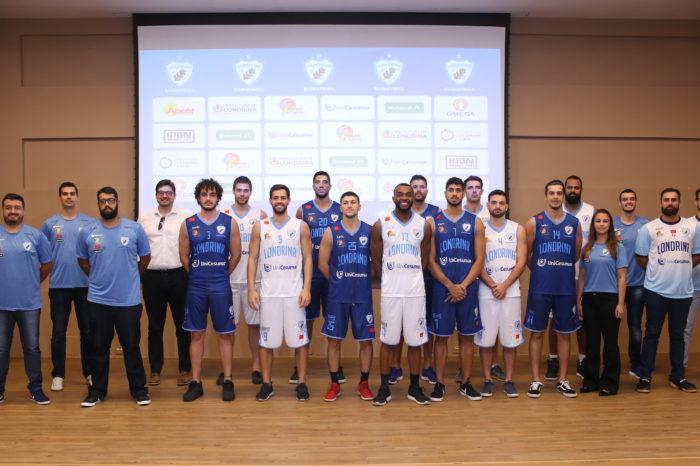 Londrina Basquete apresenta elenco e novos uniformes para 2019