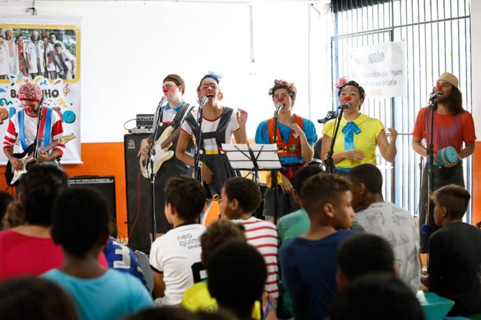 Carnaval agita Concha Acústica com Bailinho do Plantão