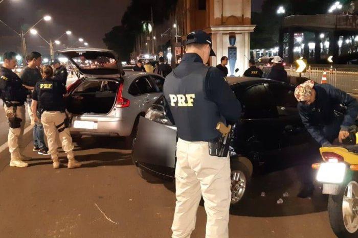 PRF aplicou já aplicou 300 multas em operação na frente da Expo Londrina