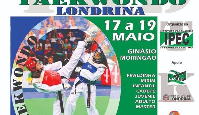 Londrina sedia Campeonato Paranaense de Taekwondo a partir de sexta-feira (17)