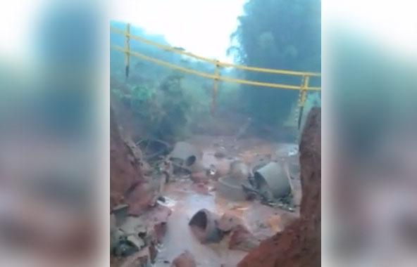 Obras deve construir nova ponte em estrada rural entre Warta e Heimtal