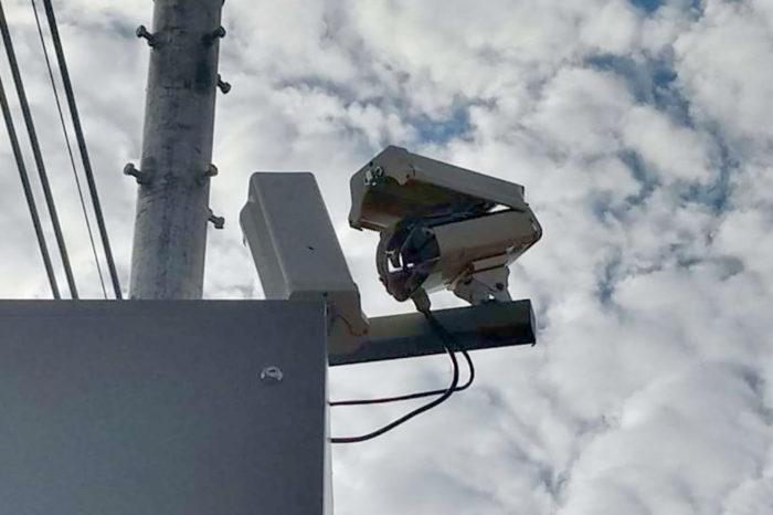 Radar na Saul Elkind é novamente alvo de vandalismo