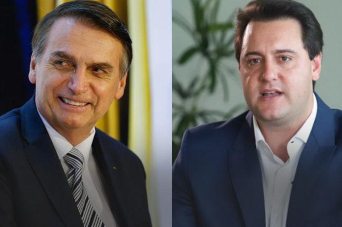 Bolsonaro e Ratinho Jr tem gestões bem avaliadas em Londrina