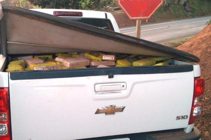 Quase 900 quilos de maconha são apreendidos no Norte Pioneiro