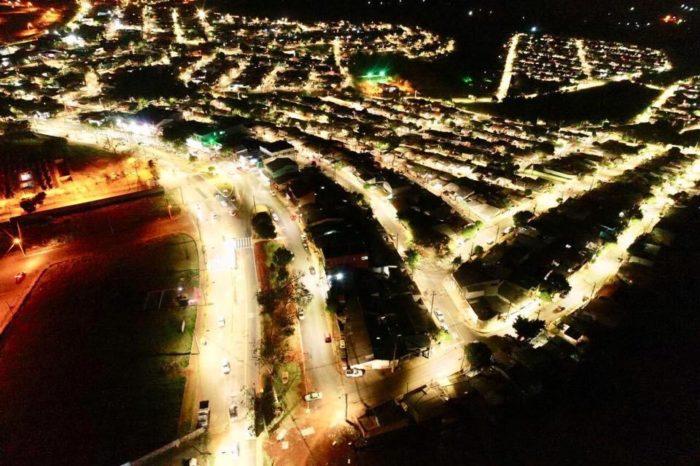 União da Vitória é o primeiro bairro de Londrina com 100% em iluminação de LED
