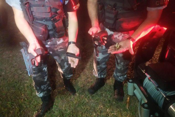 Fugitivos da cadeia de Ibiporã são mortos em confronto com a PM após assalto