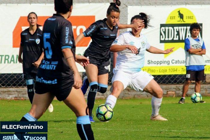 Time feminino do LEC estreia com derrota no Campeonato Paranaense