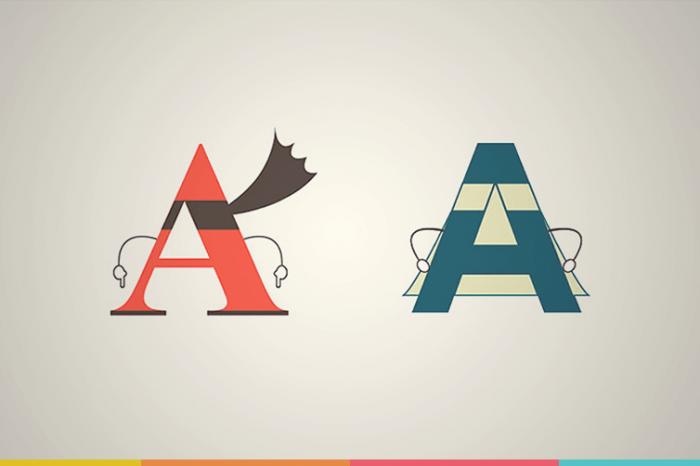 Você sabe o que é uma letra com serifa?