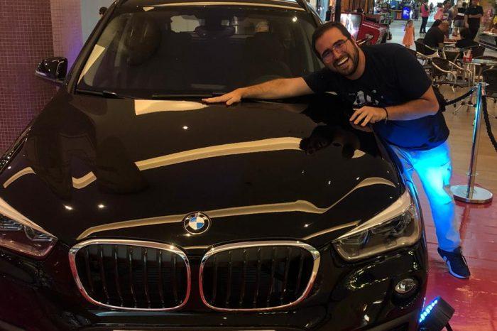 Professor ganha BMW sorteado pelo Boulevard Londrina Shopping