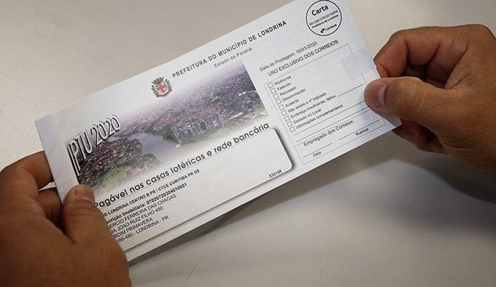 Prefeitura de Londrina começa a enviar carnês do IPTU 2020