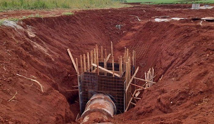 Novas galerias vão ampliar captação da água da chuva em Paiquerê