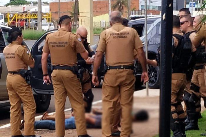 Dupla é presa em Londrina com caminhonete roubada em Sertanópolis