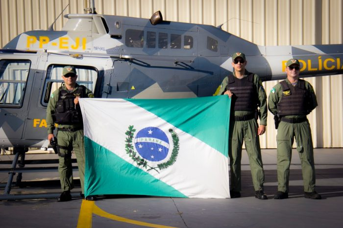 Helicóptero da PM de Londrina vai apoiar operação no Nordeste