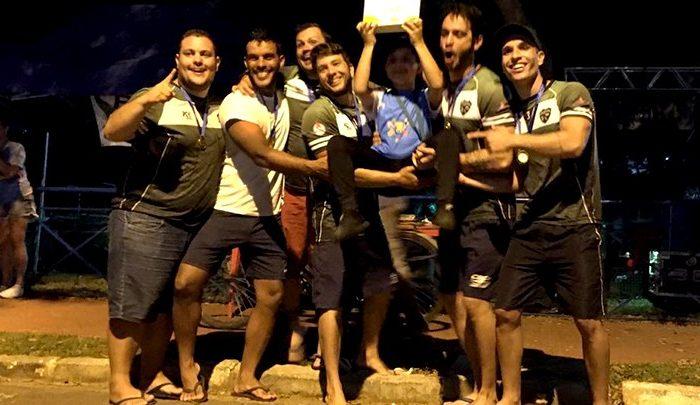 Londrinenses são campeões em Copa Brasil de Caiaque Polo