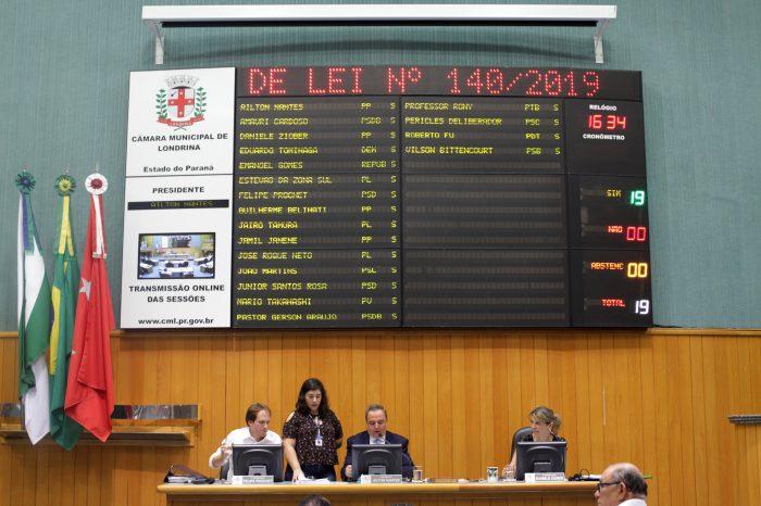 Vereadores aprovam projeto de regularização de templos religiosos de Londrina