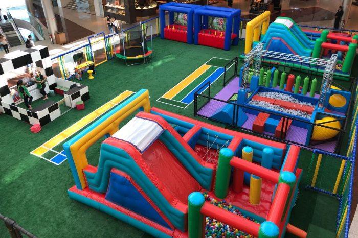 Gincana Kids é a nova atração para as crianças no Boulevard Londrina Shopping