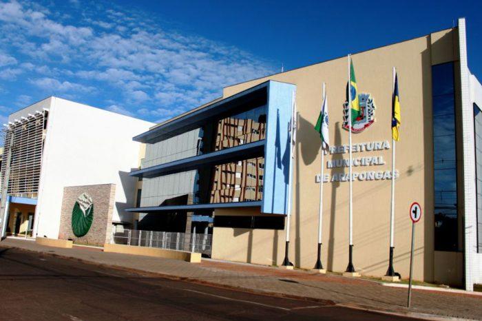 Prefeitura de Arapongas decreta retorno das atividades do comércio na segunda (13)
