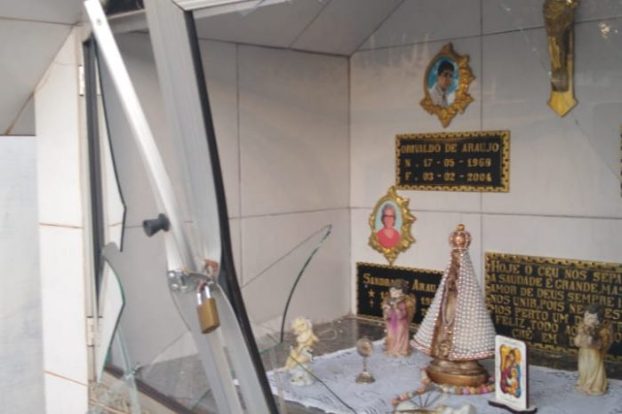 Acesf promete melhorias no cemitério São Paulo após furtos e vandalismo