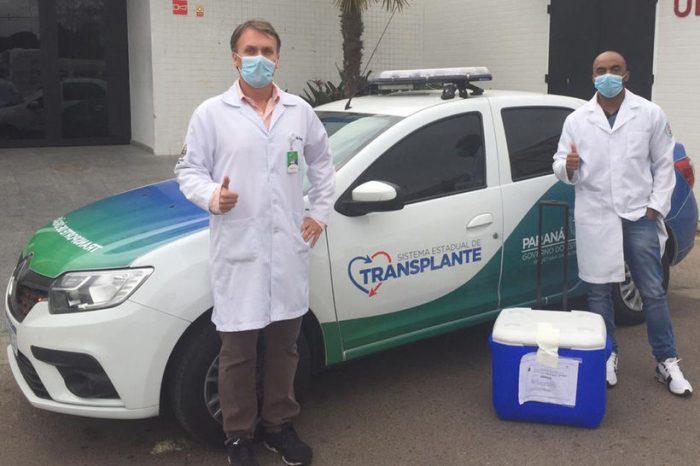 Paraná mantém liderança em transplantes de órgãos mesmo com Covid-19