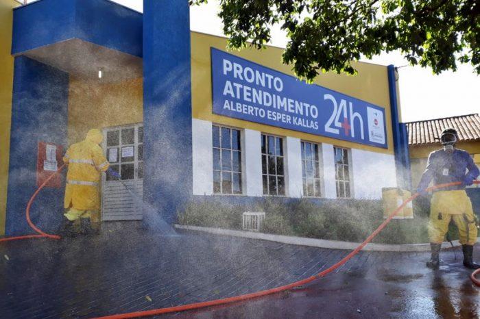 Sanepar mantém desinfecção de hospitais e asilos no norte do Paraná