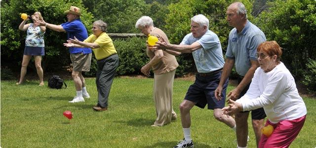 O Equilíbrio na Terceira Idade e o Envelhecimento: