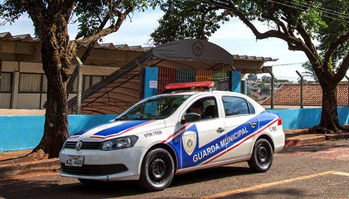 Guarda Municipal prende suspeitos de furto em escola municipal
