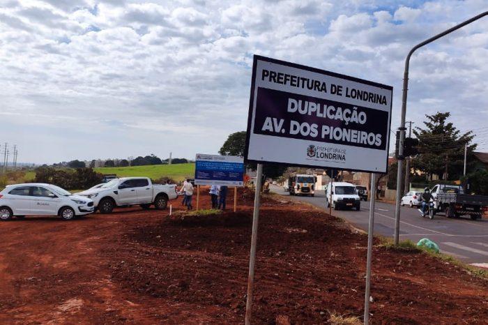 Duplicação da Avenida dos Pioneiros deve ser encerrada no mês de abril