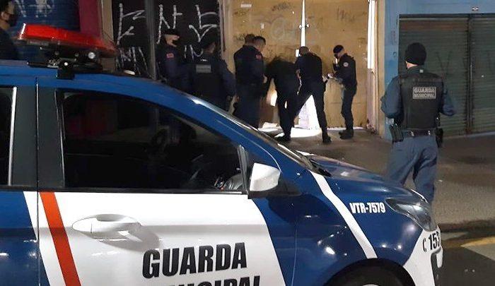 Suspeito de furto é preso pela Guarda Municipal no centro de Londrina
