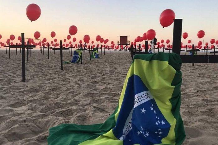 Brasil registra mais de 100 mil mortes e três milhões de casos de coronavírus