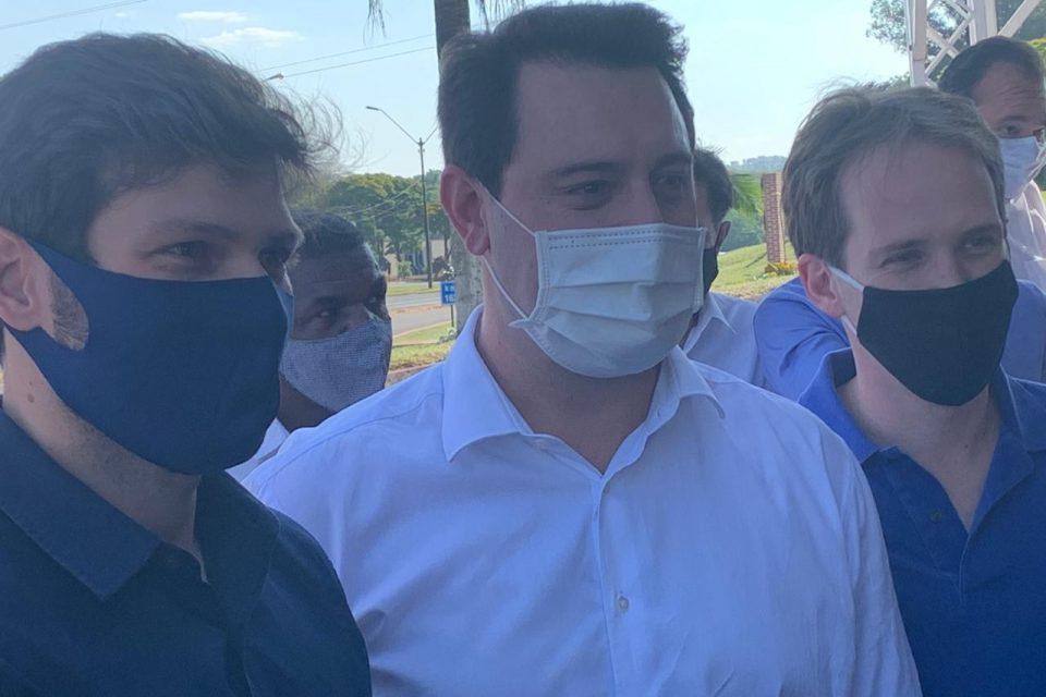 Governador confirma apoio à Tiago Amaral nas eleições 2020