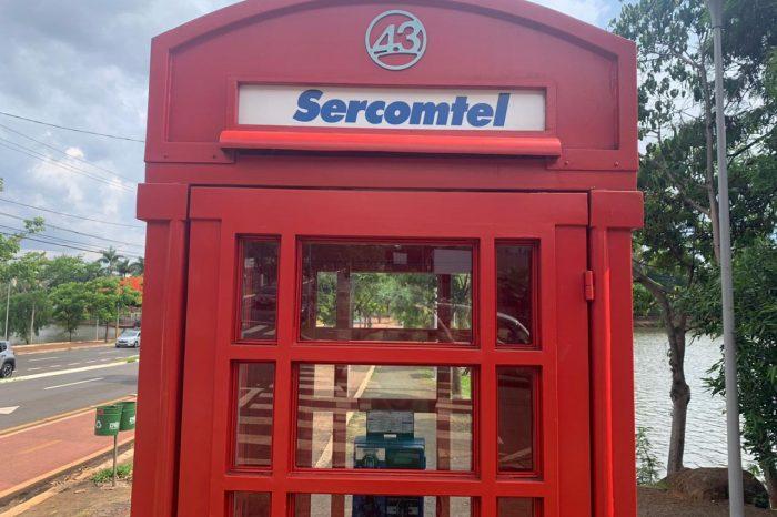 """Cabines """"inglesas"""" da Sercomtel estão sendo retiradas para manutenção e instalação de Wi-Fi"""