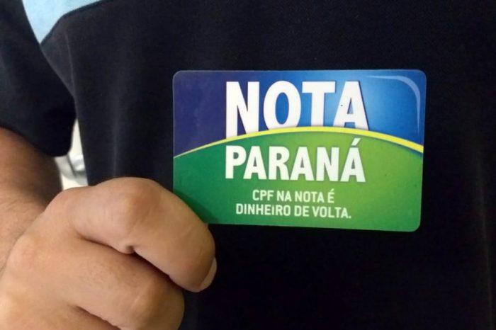 Nota Paraná libera R$ 21,9 milhões em créditos e sorteia R$ 5 milhões