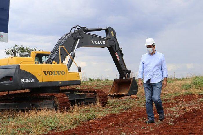 Construção da cidade industrial tem previsão de entrega para maio de 2022