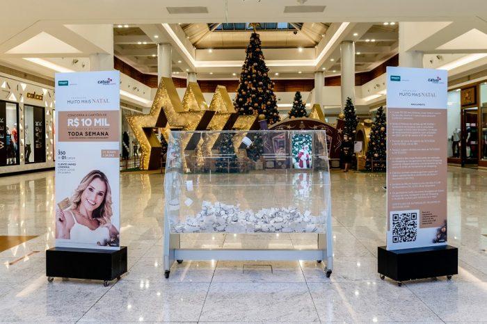 Confira os seis ganhadores dos cartões de R$ 10 mil sorteados na campanha de Natal do Catuaí Shopping