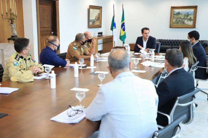Forças policiais vão intensificar fiscalização para cumprimento de medidas restritivas contra a Covid-19
