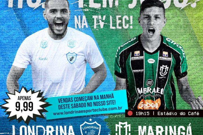 LEC transmitirá jogos do Campeonato Paranaense por canal próprio