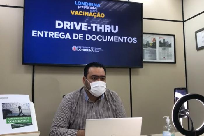 Quase 5 mil londrinenses serão vacinados até sábado (6), diz secretário de Saúde