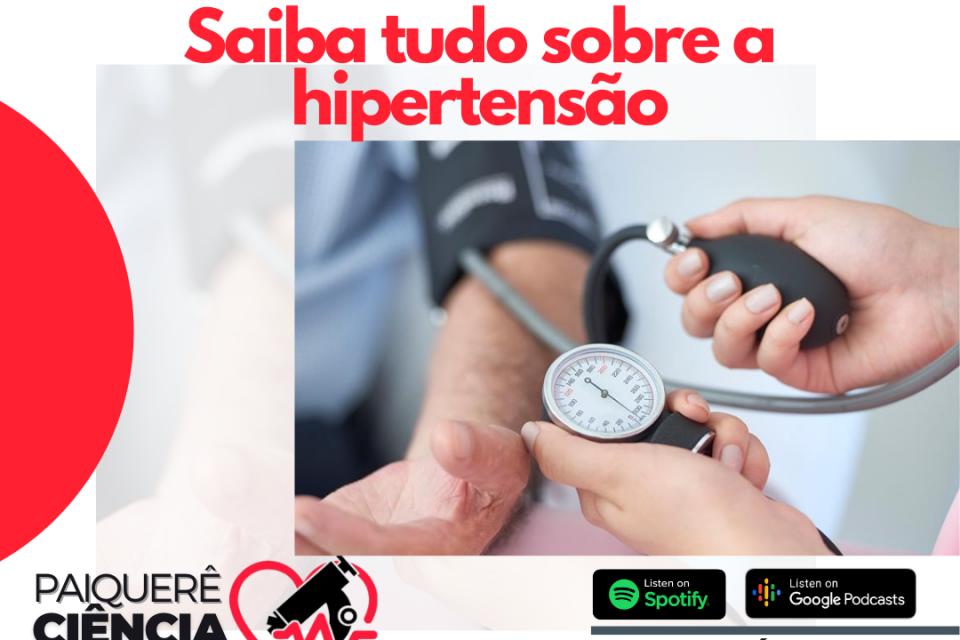 Hipertensão – Paiquerê Ciência e Saúde #053 I Podcast – Portal Paiquerê