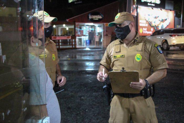 Polícia já prendeu 420 pessoas e interditou 209 pontos comerciais