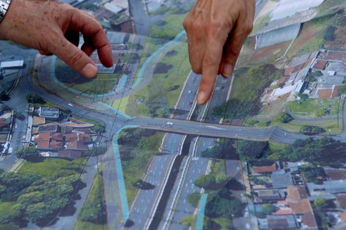 Obras no viaduto da rua Bolívia devem desafogar rua Charles Lindemberg