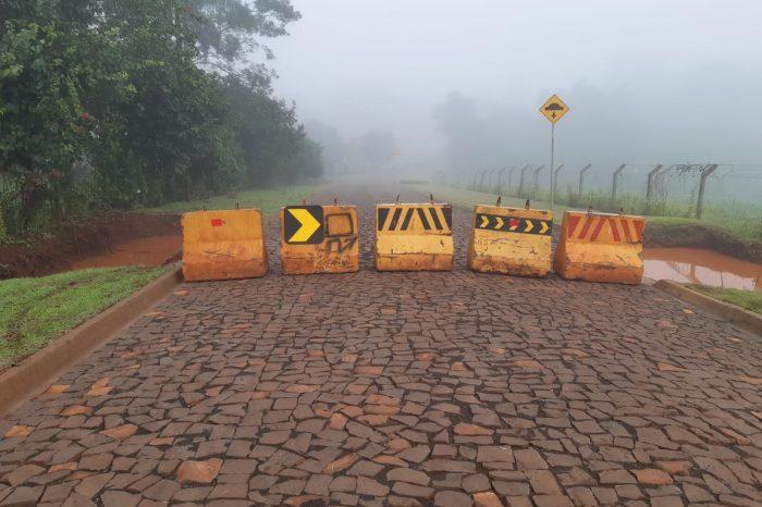 Secretário de Agricultura de Londrina explica medidas a serem tomadas após interdição da ponte na Fazenda Nata