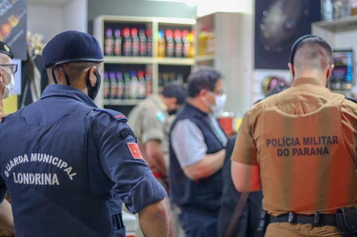 GM interdita distribuidoras de bebidas em Londrina por desacordo ao Decreto Estadual