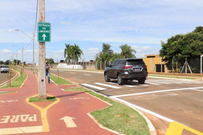 Trânsito é liberado na rua Jayme Americano, prolongamento da avenida Salgado Filho