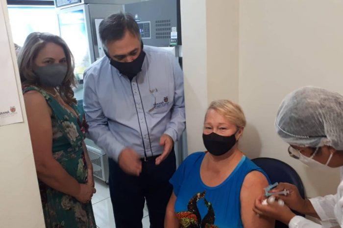 Secretário visita municípios e reforça campanha de vacinação de domingo a domingo