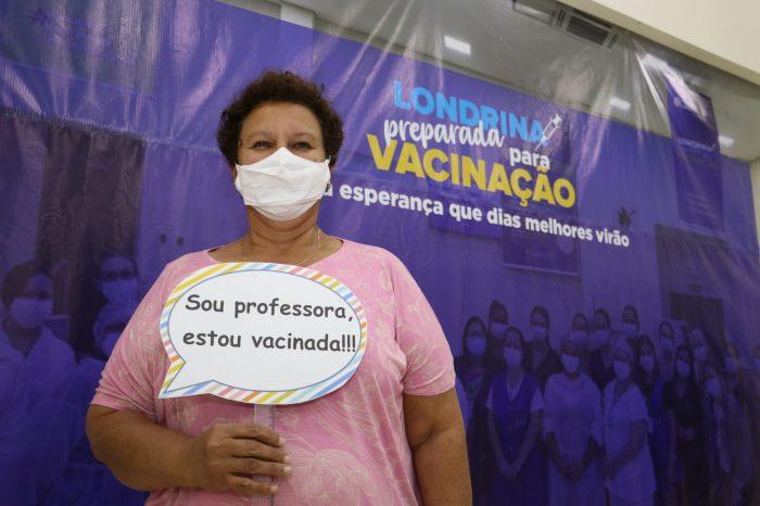 Paraná ultrapassa marca de 3 milhões de pessoas vacinadas com a primeira dose