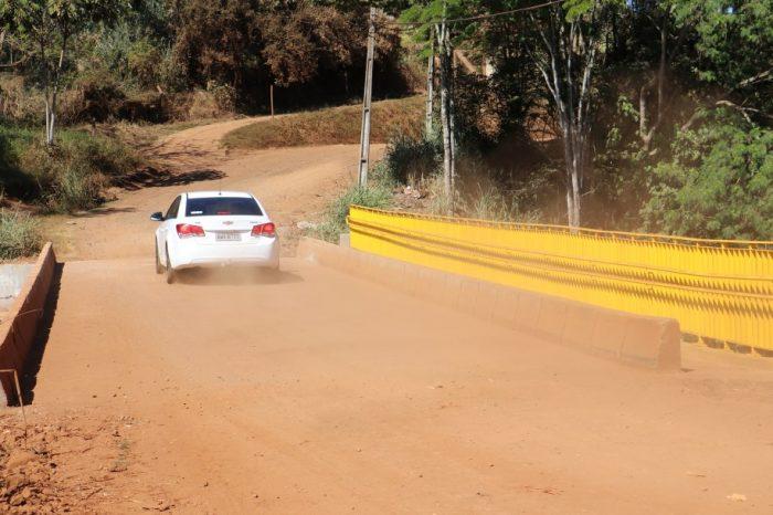 Três pontes na zona rural de Londrina são recuperadas